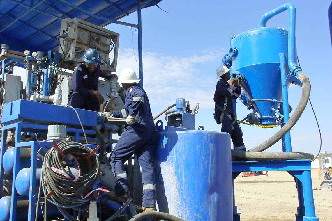 East Africa's leading oil well cementing service provider